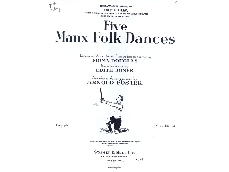 Five Manx Dances title page